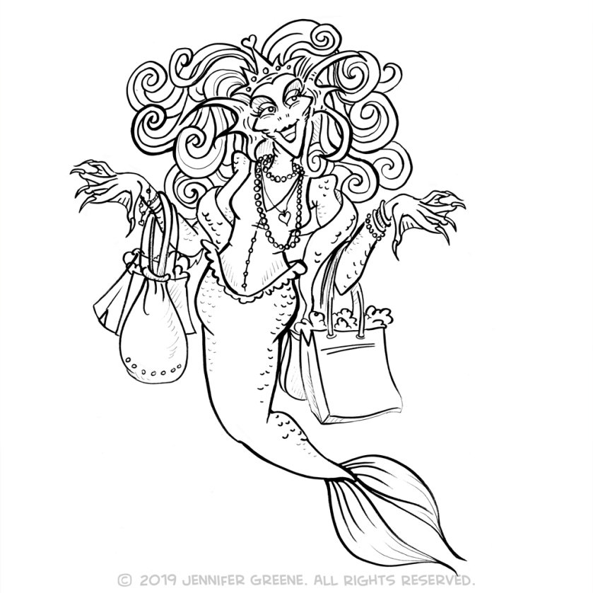 MerMay31_FashionistaDrawing