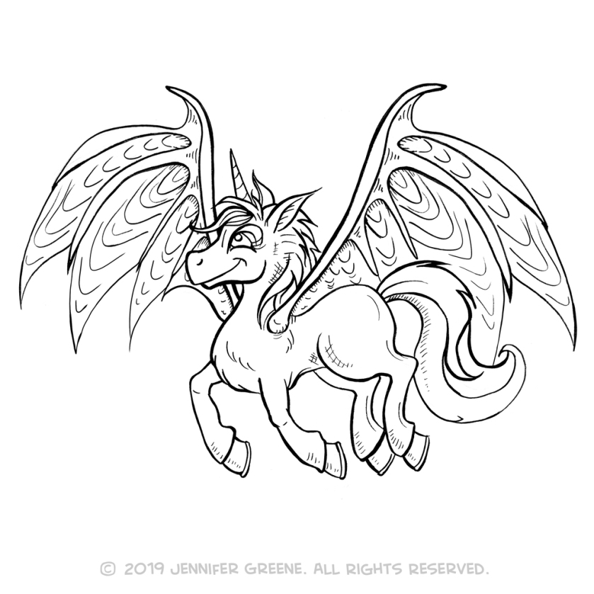 Junicorn14Drawing
