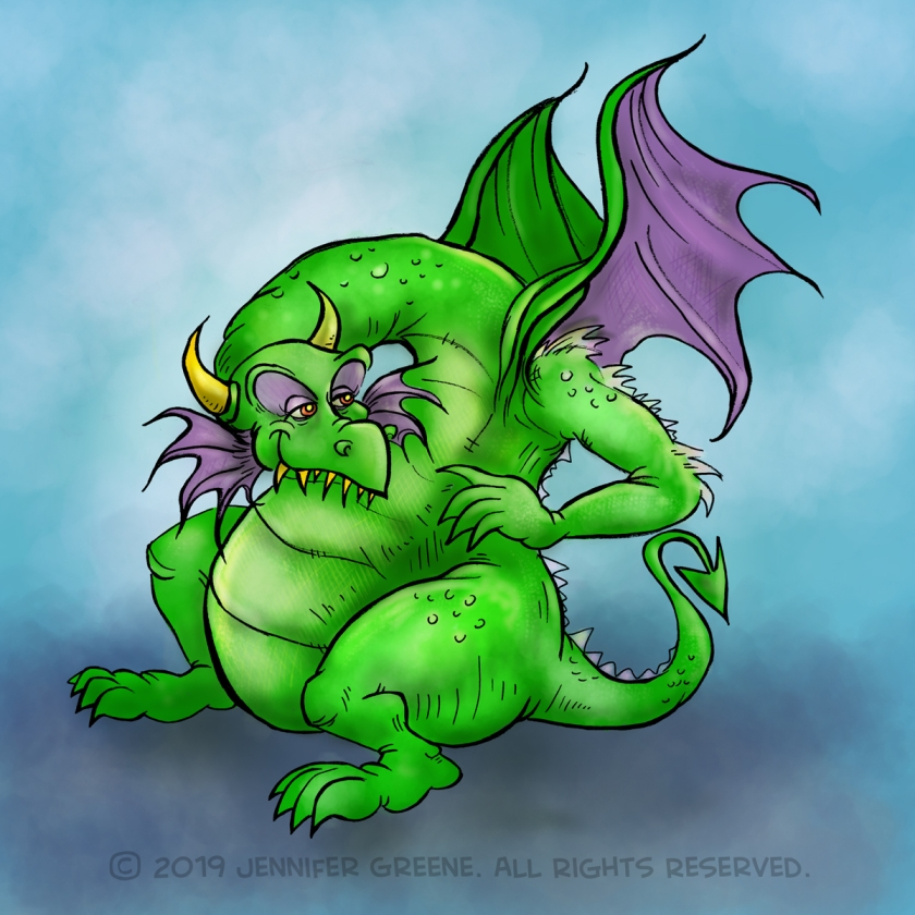 Inktober13_Dragon