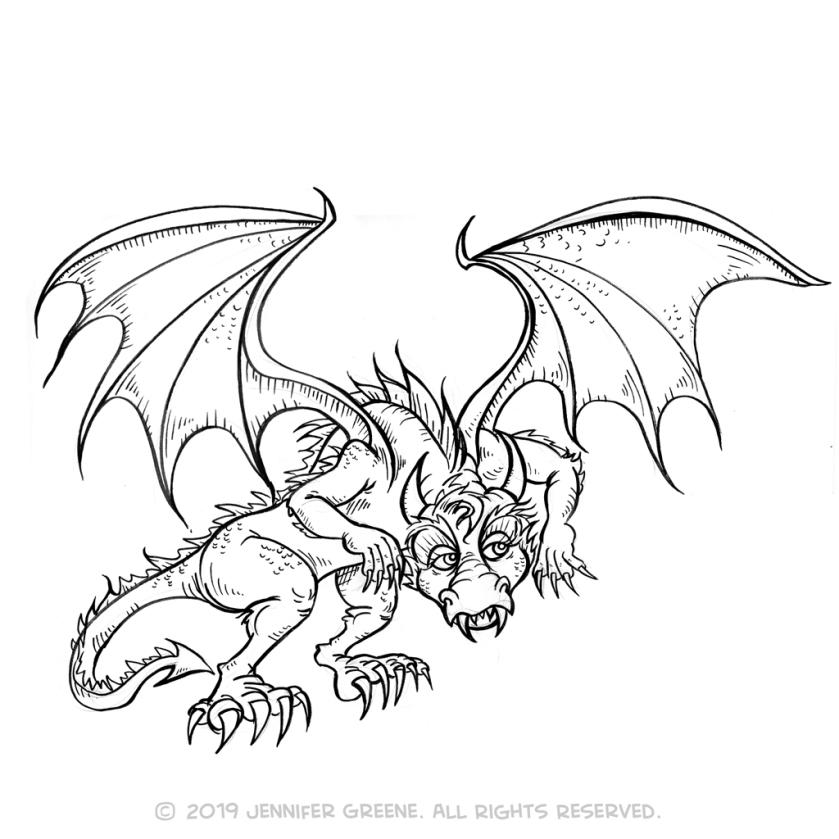 Dragon3Drawing