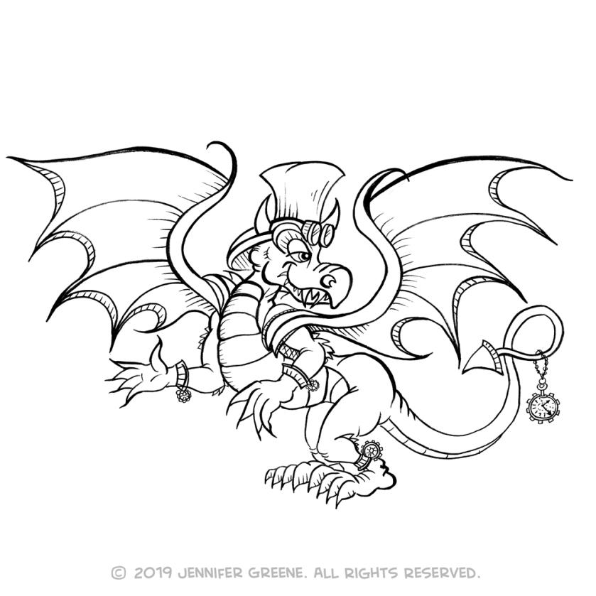 Dragon5Drawing
