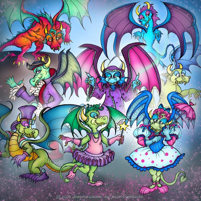 DragonCollage