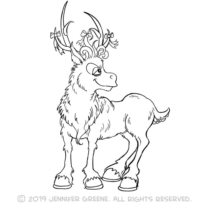 Reindeer4Drawing