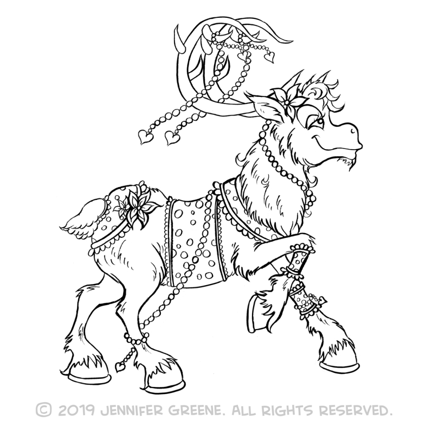 Reindeer6Drawing